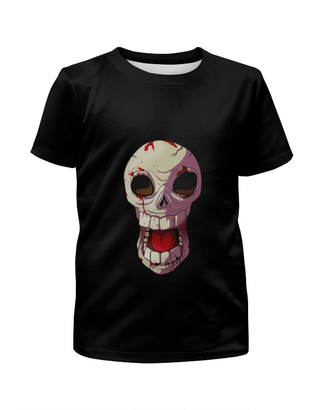 Printio Череп для вашего ребенка футболка с полной запечаткой для девочек printio череп с крыльями