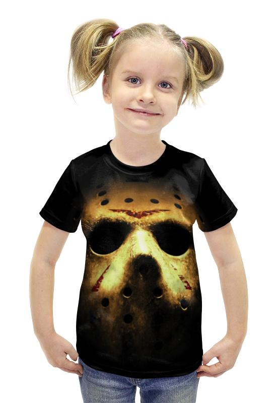 Футболка с полной запечаткой для девочек Printio Jason футболка с полной запечаткой для девочек printio пртигр arsb