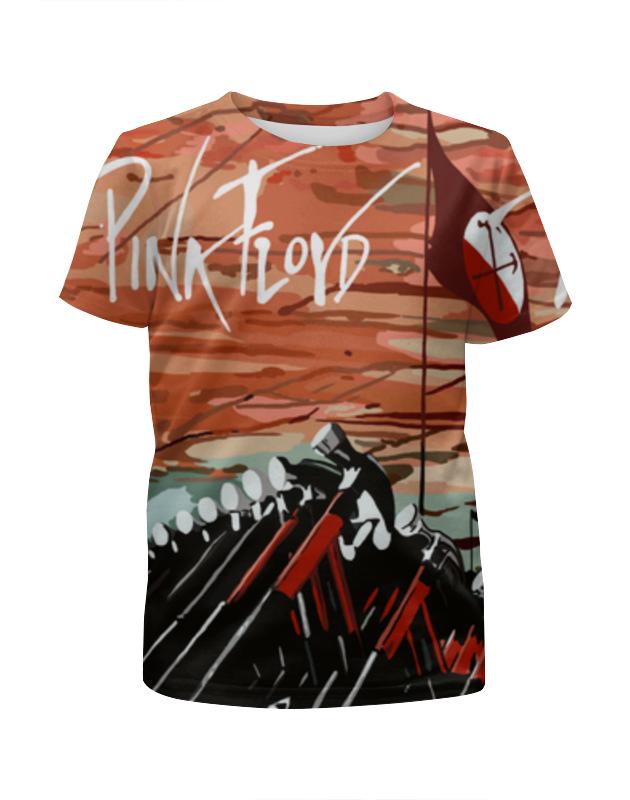 Футболка с полной запечаткой для девочек Printio Pink floyd футболка с полной запечаткой для девочек printio pink floyd endless river