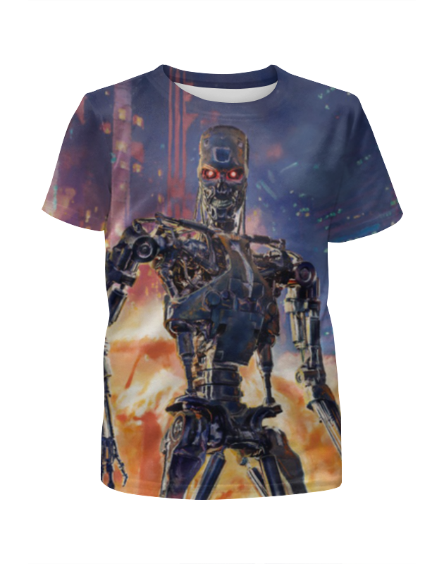 Футболка с полной запечаткой для девочек Printio Terminator футболка с полной запечаткой для девочек printio terminator