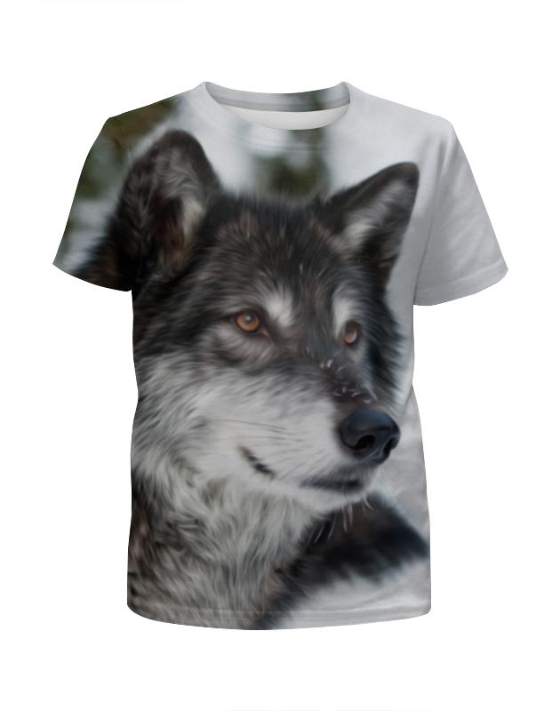 лучшая цена Printio Серый волк