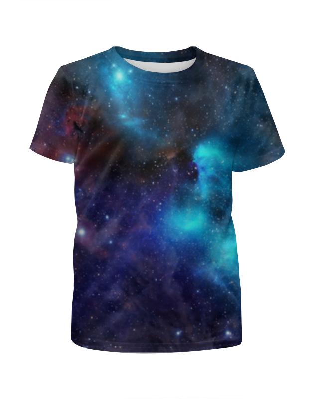 Футболка с полной запечаткой для девочек Printio Туманность (1) футболка с полной запечаткой мужская printio туманность 1