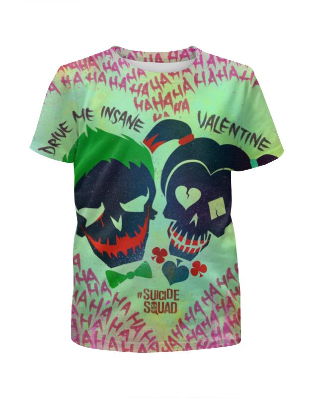 Футболка с полной запечаткой для девочек Printio Отряд самоубийц / suicide squad футболка с полной запечаткой для девочек printio третий лишний