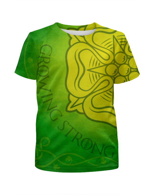 Футболка с полной запечаткой для девочек Printio Игра престолов. тиреллы футболка wearcraft premium printio игра престолов