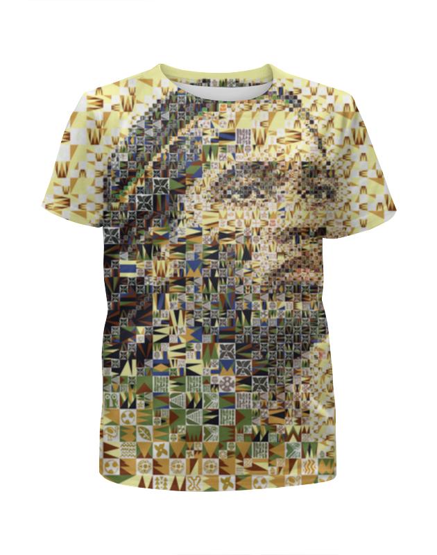 Футболка с полной запечаткой для девочек Printio Футбольная мозайка дидье дрогба футболка с полной запечаткой для девочек printio футбольная мозайка фернандо торрес