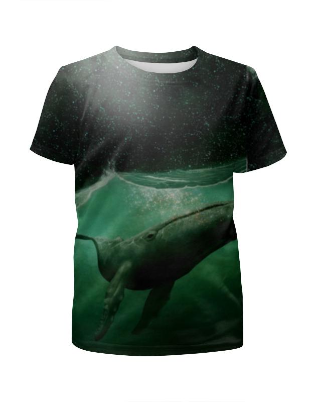 Футболка с полной запечаткой для девочек Printio Кит!!! футболка для беременных printio кит ричардс