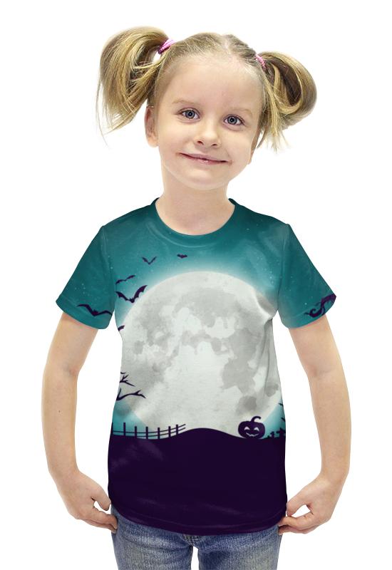 Футболка с полной запечаткой для девочек Printio Ночь всех святых футболка с полной запечаткой для мальчиков printio ночь всех святых