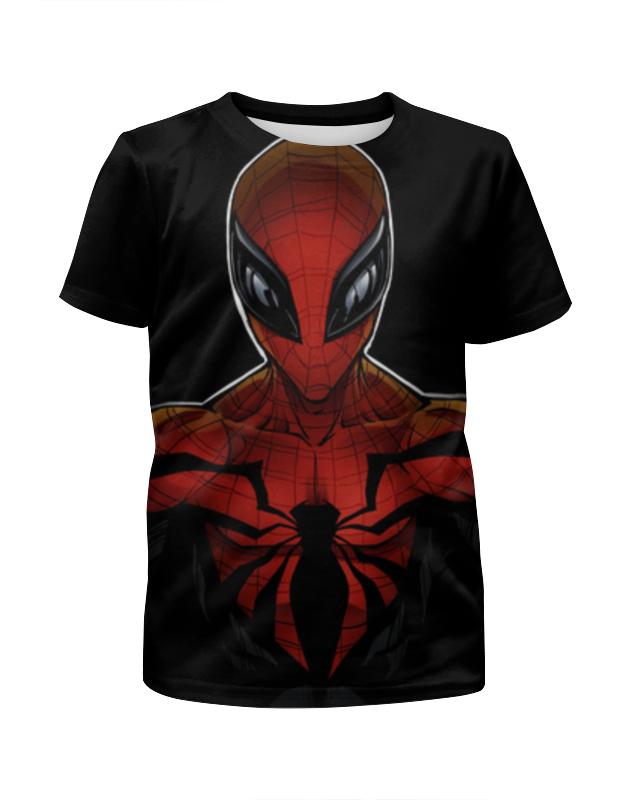 Футболка с полной запечаткой для девочек Printio Человек паук футболка с полной запечаткой для девочек printio попугаи