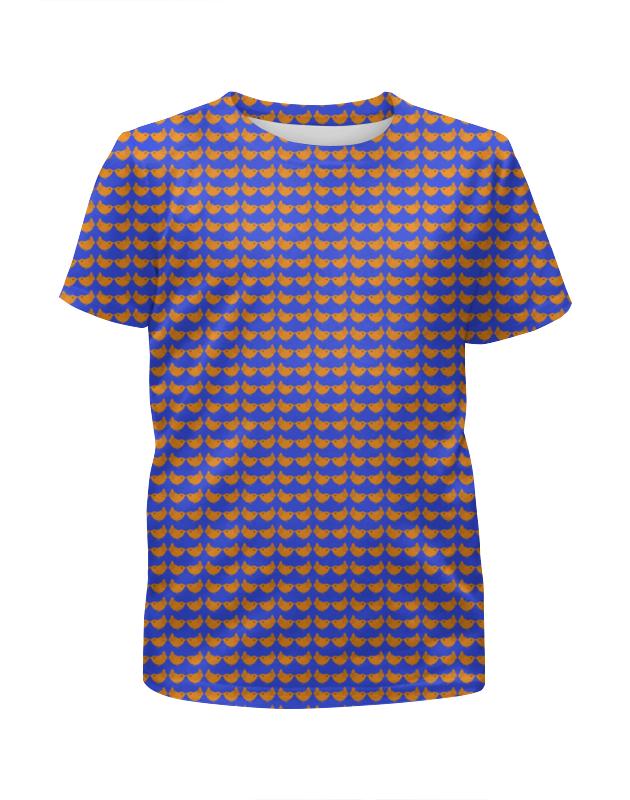 Футболка с полной запечаткой для девочек Printio Цыплята футболка с полной запечаткой для девочек printio свой парень