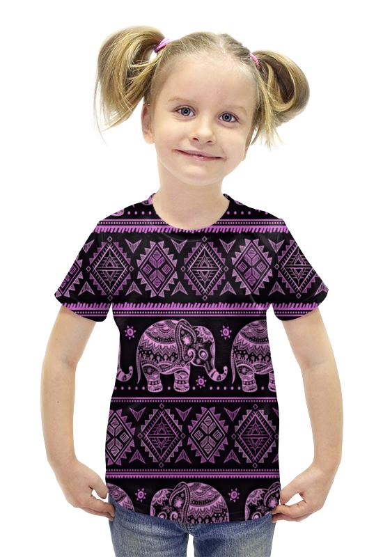 Футболка с полной запечаткой для девочек Printio Индия футболка с полной запечаткой для девочек printio пртигр arsb