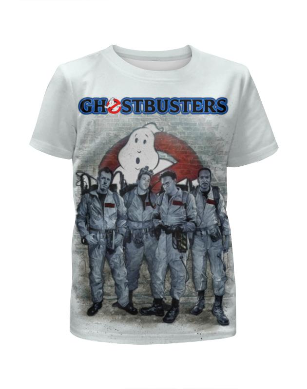 Футболка с полной запечаткой для девочек Printio Ghost busters