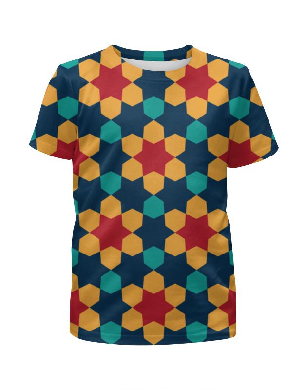 Футболка с полной запечаткой для девочек Printio Vector футболка print bar snow vector