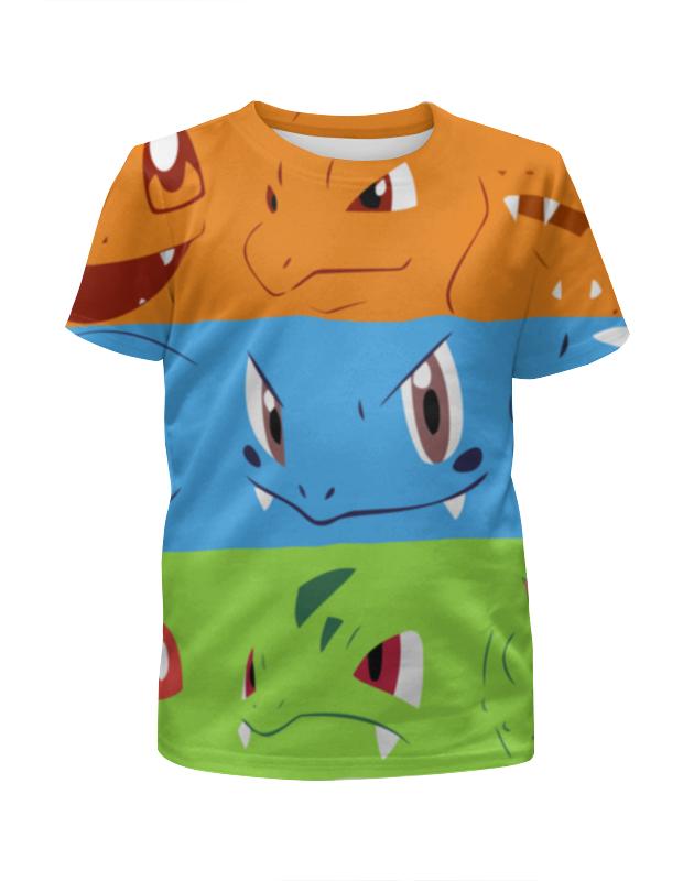 Футболка с полной запечаткой для девочек Printio Покемон (pokemon) футболка с полной запечаткой для девочек printio pokemon lapras