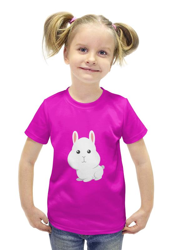 Футболка с полной запечаткой для девочек Printio Зайчик футболка с полной запечаткой для девочек printio spawn