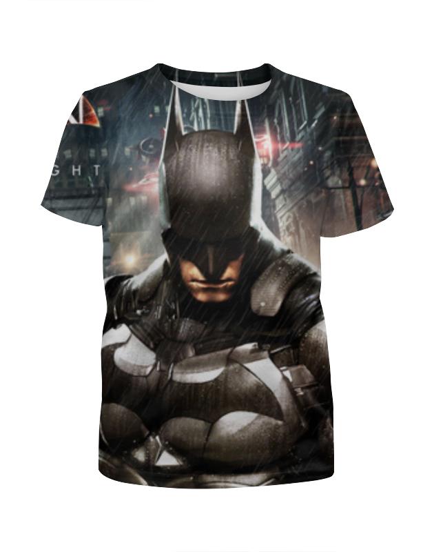 Футболка с полной запечаткой для девочек Printio Бэтмен футболка с полной запечаткой для девочек printio batman x joker бэтмен