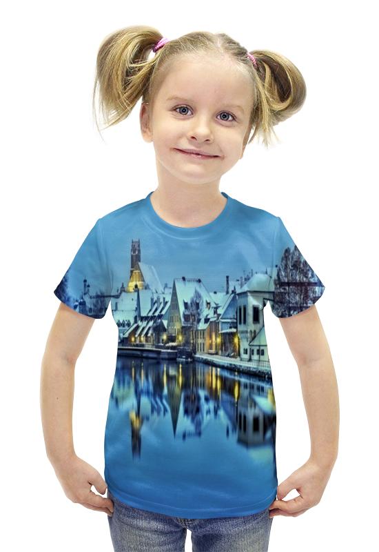 Футболка с полной запечаткой для девочек Printio Германия футболка с полной запечаткой для девочек printio spawn