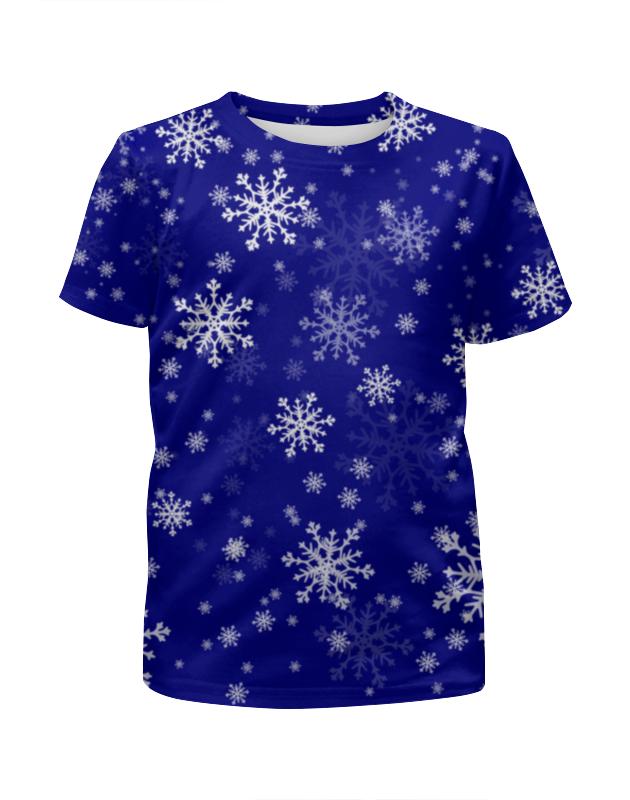 Футболка с полной запечаткой для девочек Printio Новый год!!! футболка с полной запечаткой для девочек printio зима близко