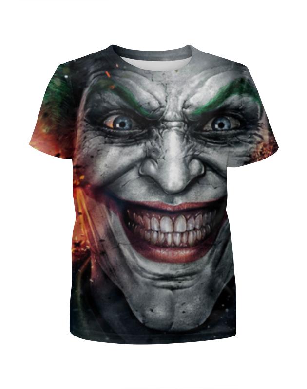 Футболка с полной запечаткой для девочек Printio Joker футболка с полной запечаткой для девочек printio the joker