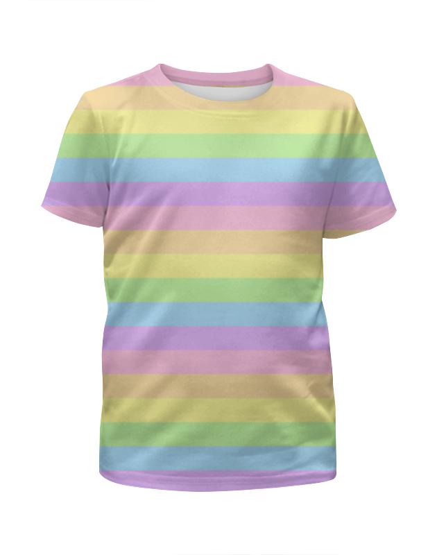 Printio Lines футболка с полной запечаткой для девочек printio на отдых