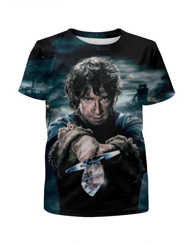 Printio Hobbit футболка с полной запечаткой для мальчиков printio hobbit