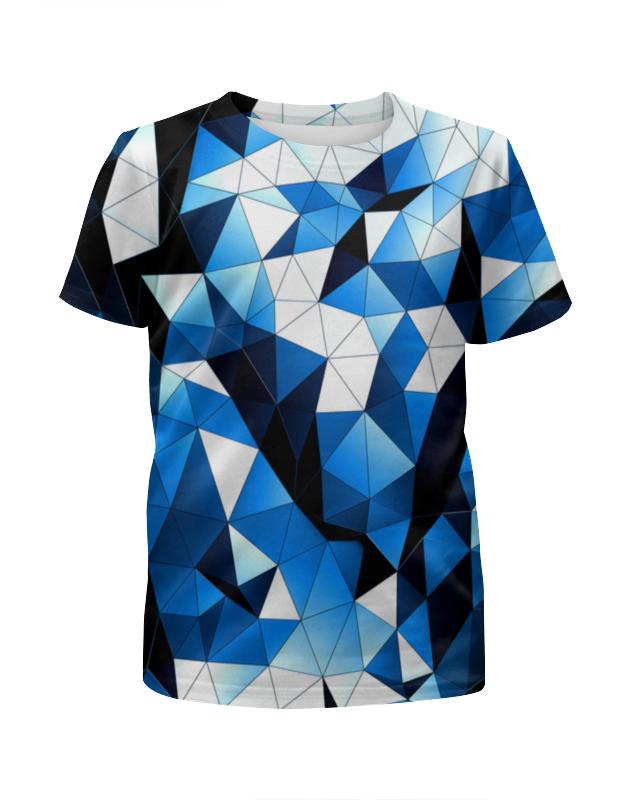 Футболка с полной запечаткой для девочек Printio Стекла цветные футболка с полной запечаткой для девочек printio spawn
