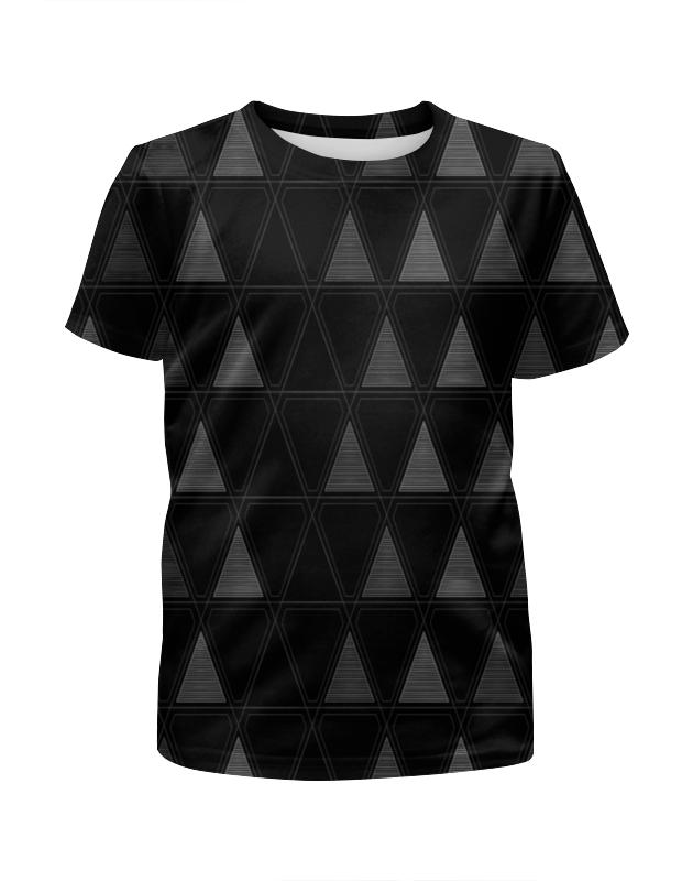 Printio Треугольник футболка с полной запечаткой для девочек printio космический треугольник