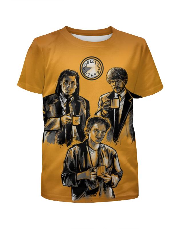 Футболка с полной запечаткой для девочек Printio Криминальное чтиво футболка с полной запечаткой для девочек printio пртигр arsb