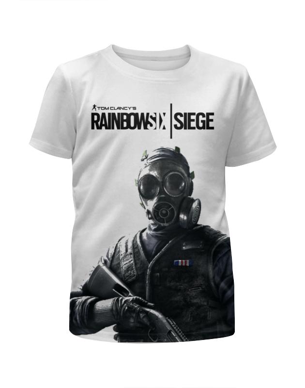 Футболка с полной запечаткой для девочек Printio Rainbowsix: siege футболка с полной запечаткой для мальчиков printio rainbowsix siege