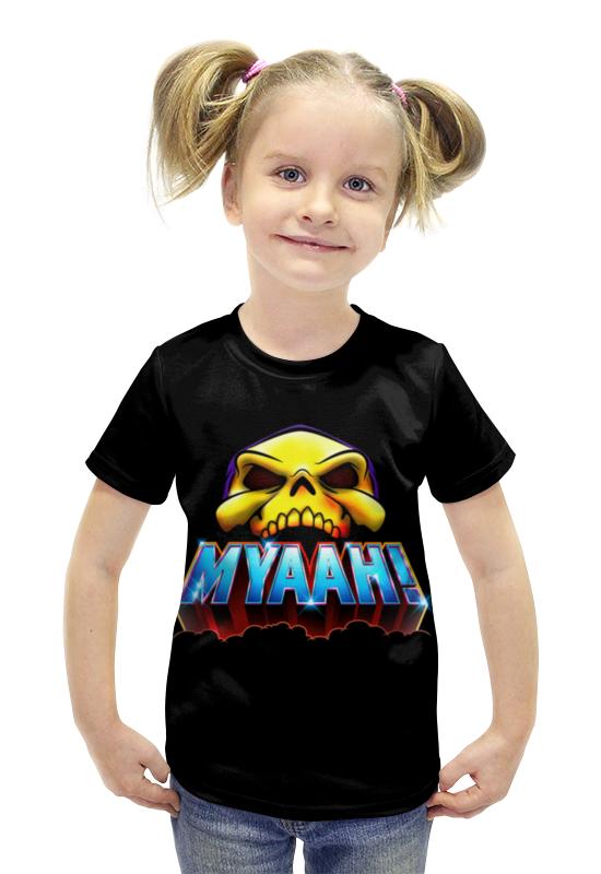 Футболка с полной запечаткой для девочек Printio Myaah! футболка с полной запечаткой для девочек printio пртигр arsb