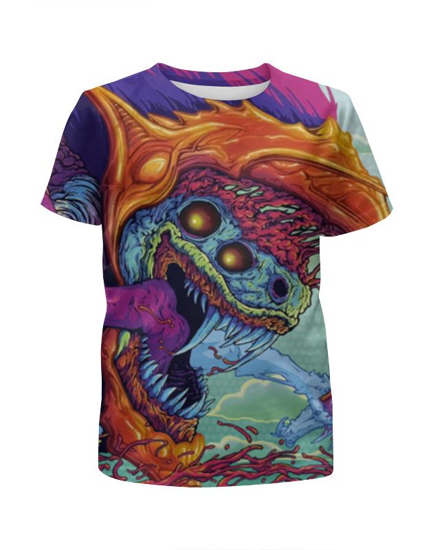 Футболка с полной запечаткой для девочек Printio Hyper beast футболка с полной запечаткой для девочек printio hyper beast