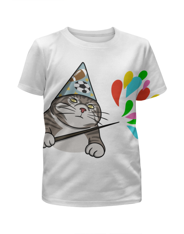 Футболка с полной запечаткой для девочек Printio Вжух мем футболка с полной запечаткой для девочек printio волшебник