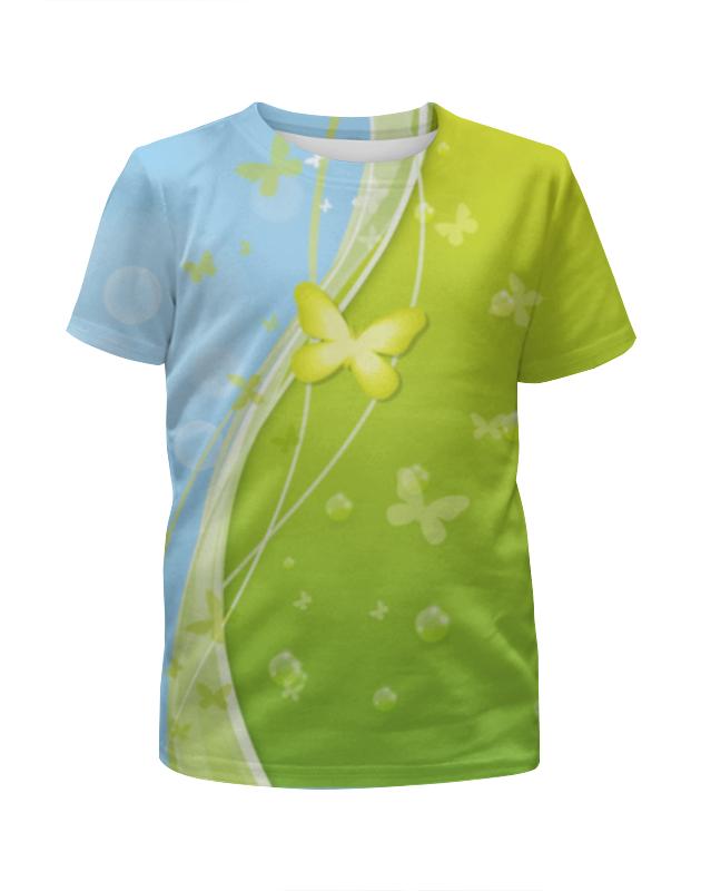 Футболка с полной запечаткой для девочек Printio Летний мотив футболка с полной запечаткой для девочек printio летний отдых