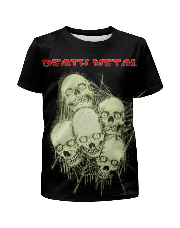 Printio Death metal футболка с полной запечаткой для девочек printio death trooper
