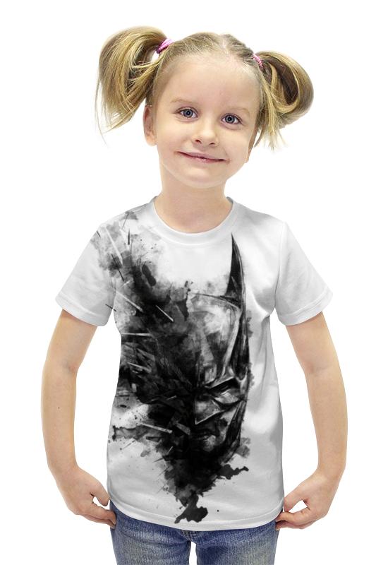Футболка с полной запечаткой для девочек Printio Бэтмен футболка с полной запечаткой для девочек printio spawn