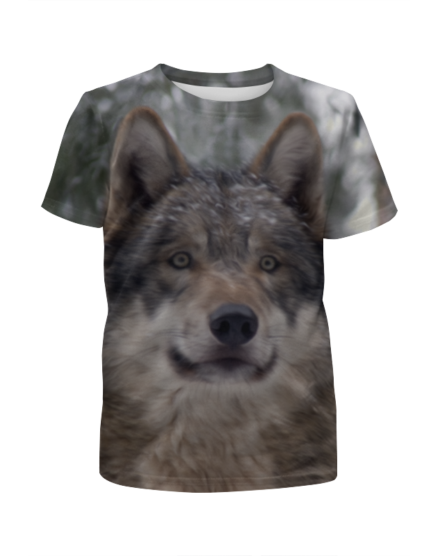 лучшая цена Printio Волк в лесу