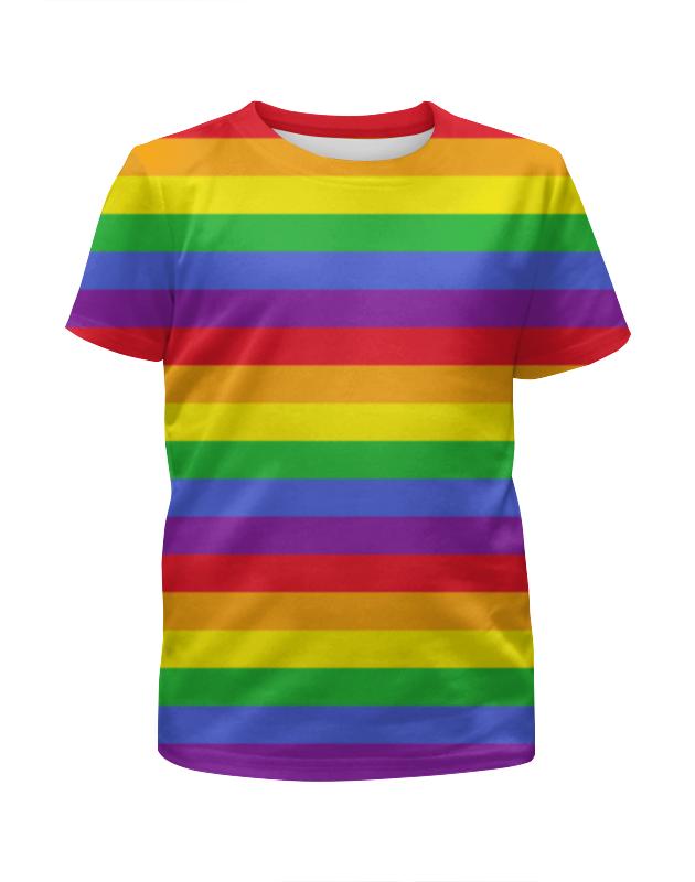 Printio Rainbow футболка с полной запечаткой для девочек printio на отдых