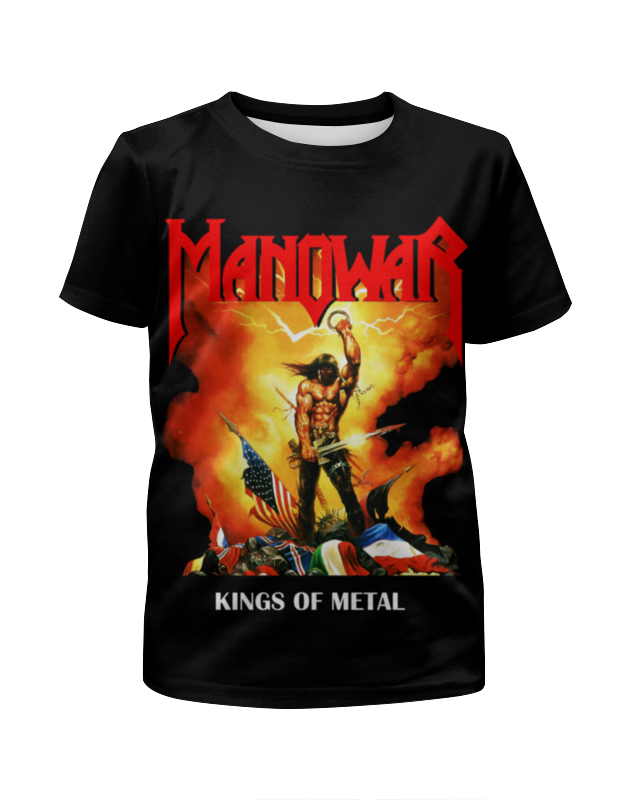Printio Manowar band цена и фото