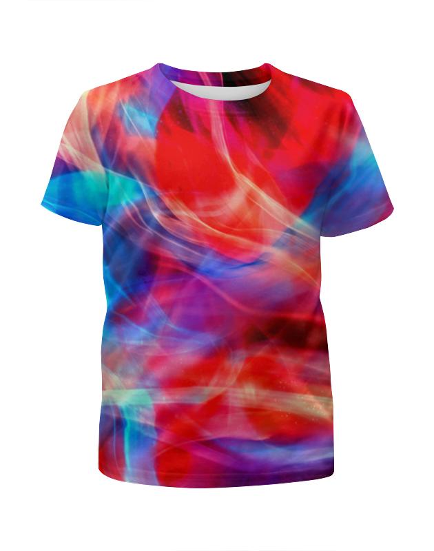 Футболка с полной запечаткой для девочек Printio Яркие краски футболка с полной запечаткой для девочек printio пртигр arsb