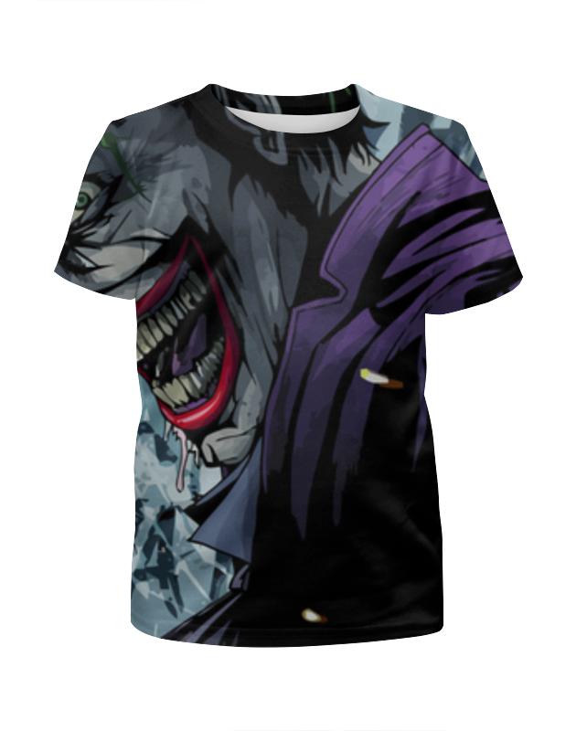 Футболка с полной запечаткой для девочек Printio Joker ha футболка с полной запечаткой для девочек printio joker