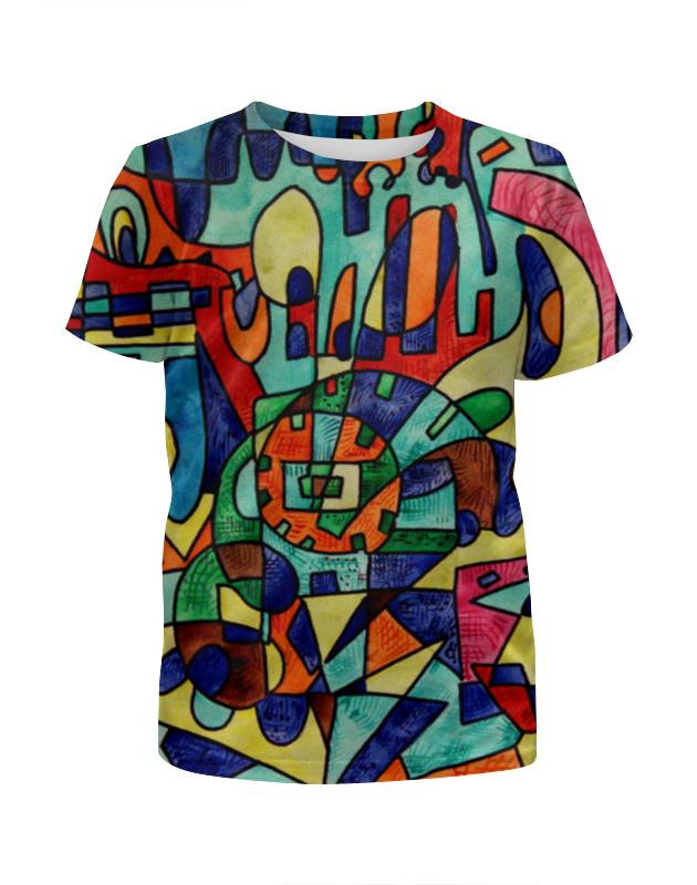 Футболка с полной запечаткой для девочек Printio 8111as-=a футболка с полной запечаткой для девочек printio a very merry x mas