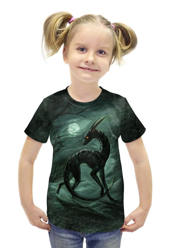 Футболка с полной запечаткой для девочек Printio Аррахант помнящий футболка с полной запечаткой для девочек printio война миров z