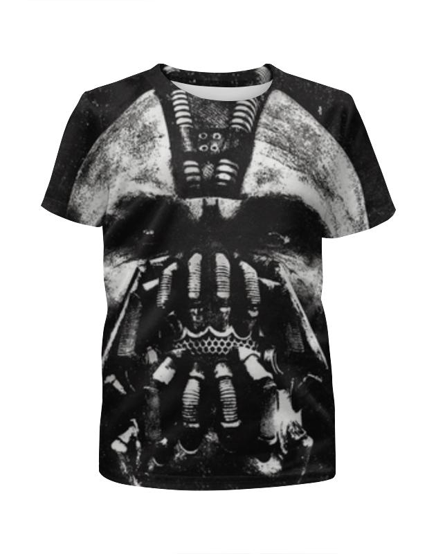 Футболка с полной запечаткой для девочек Printio Бэйн (бэтмен) футболка с полной запечаткой для девочек printio бэтмен batman