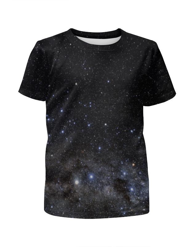 Футболка с полной запечаткой для девочек Printio Космос space футболка с полной запечаткой для девочек printio spawn