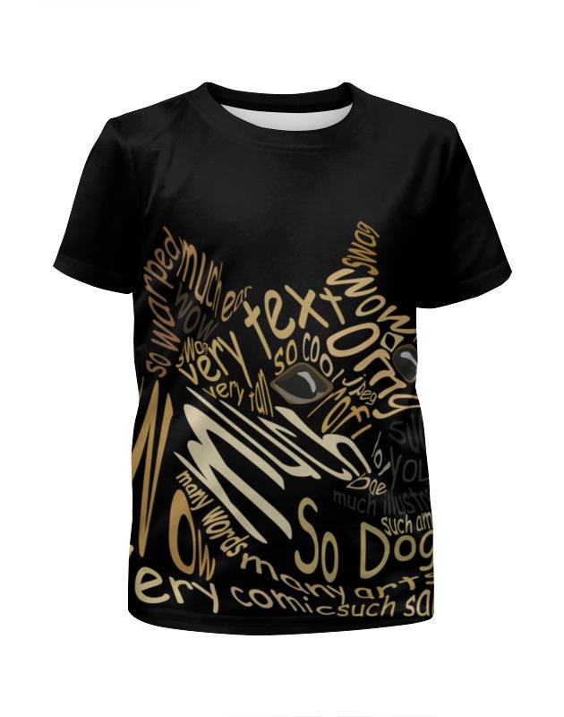 Футболка с полной запечаткой для девочек Printio Doge футболка с полной запечаткой мужская printio doge