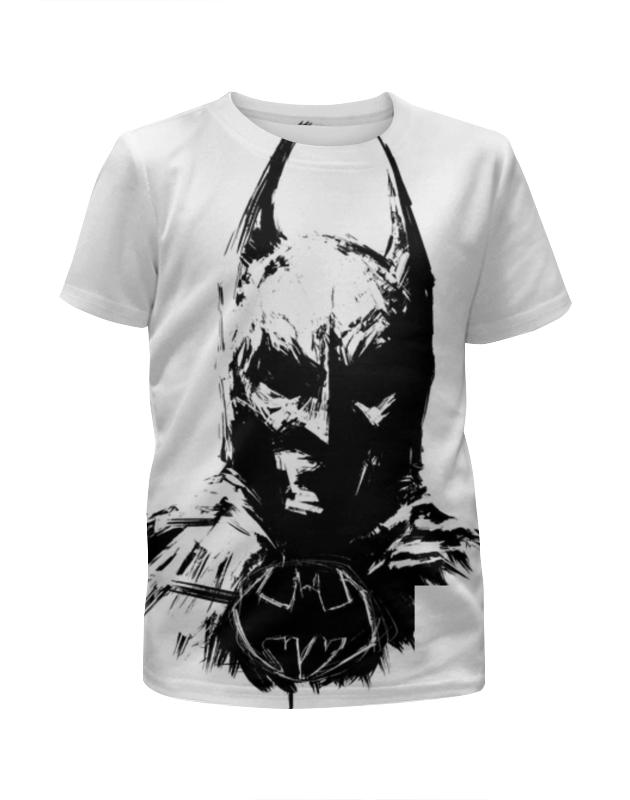 Футболка с полной запечаткой для девочек Printio Бэтмен футболка с полной запечаткой для девочек printio мишка тед