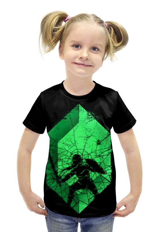 Футболка с полной запечаткой для девочек Printio Воин футболка с полной запечаткой для девочек printio пртигр arsb