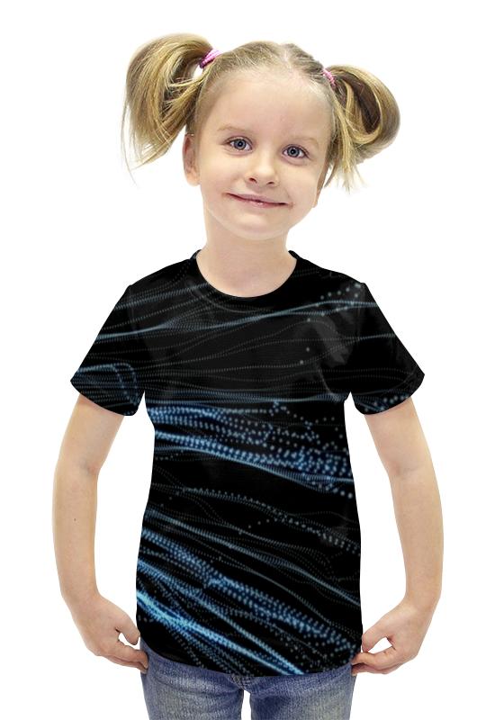 Футболка с полной запечаткой для девочек Printio Technology футболка с полной запечаткой для девочек printio пртигр arsb