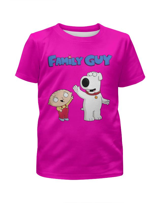 Футболка с полной запечаткой для девочек Printio Family gay футболка с полной запечаткой для девочек printio spawn