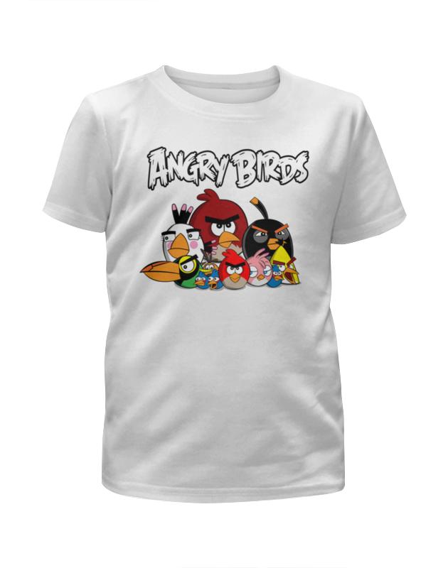 Футболка с полной запечаткой для девочек Printio Angry birds цена и фото
