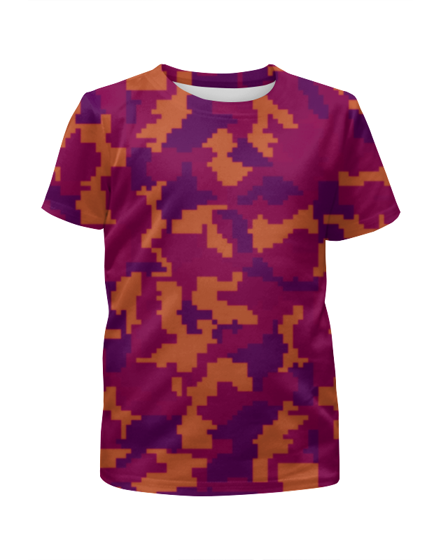 Футболка с полной запечаткой для девочек Printio Camouflage night футболка с полной запечаткой для девочек printio дайвинг